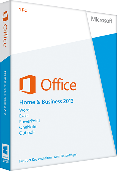 Office Home & Business 2013 ESD Lizenz